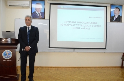 Two dissertation works were discussed at the Scientific Seminar