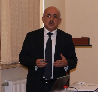 The presentation by Jahangir Abdullayev director of Banking Training Canter on 16.10.2015