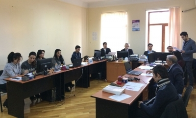 The thesis by dissertant Akbar Huseynov was discussed at the Department
