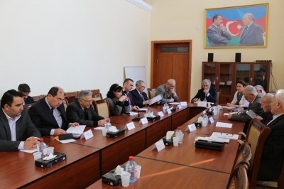 At the Dissertation Council of the Institute of Economy ANAS were the defense of two dissertations