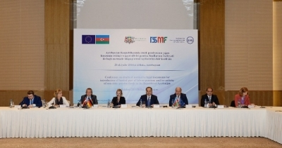 The conference, dedicated to the draft normative legal documents on the activities of non-state pension funds and to the application of collection part of labour pension in Azerbaijan Republic