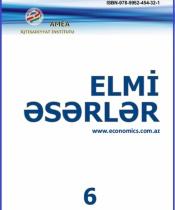"""""""Elmi əsərlər"""" toplusu №6-2015"""